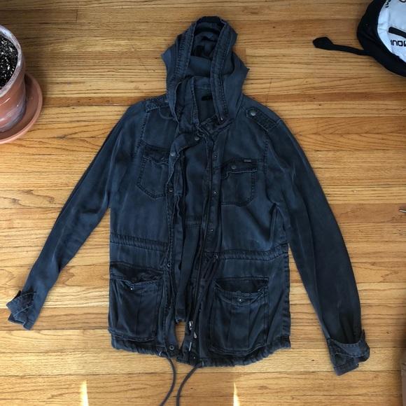 Max Jeans Jackets & Blazers - Max Jeans black utility jacket